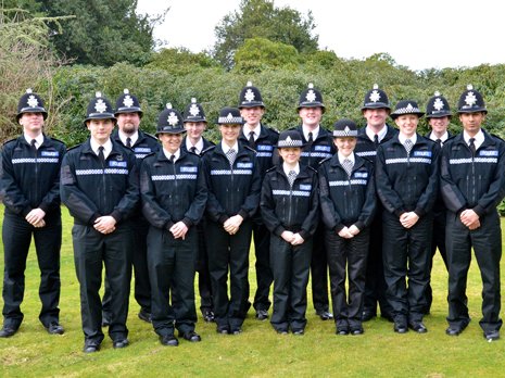 Six students, an IT analyst and a hotel worker are amongst the latest recruits to join the ranks of Derbyshire's Special Constabulary.