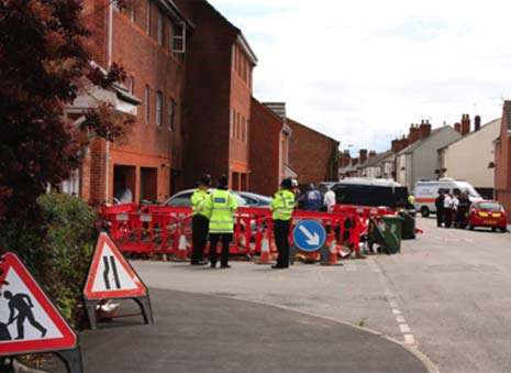Police have charged three people with murder following the fatal flat fire in Langley Mill.