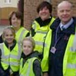 Pupils On Patrol In Staveley