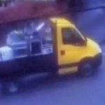 CCTV Image Of Van Following Thefts From House In Clowne