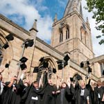 College Graduates at the Crooked Spire
