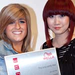 Katie Beer finshes 3rd in Nationa Wella Hair cutting and colouring competition
