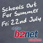 Schools out for summer for teachers too at the b2net