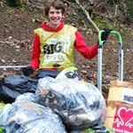 Litter-Pick Fund Raiser For Malawi-Bound 15 year old Max Clarke
