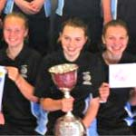 Derbyshire CCC Share Trophy With Young Sports Leaders