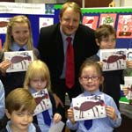 Chesterfield Child Makes MP's Christmas