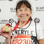 Cheryle's Marathon Fundraiser For St John Ambulance