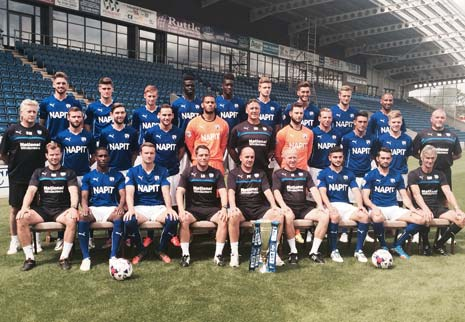 After the team photo was taken, Cook told The Chesterfield Post that he was looking forward to the season ahead
