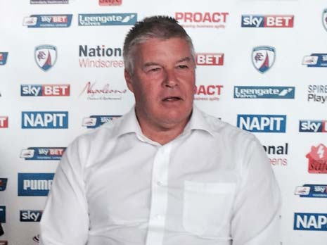 Following on from our interview with Chesterfield FC's CEO Chris Turner, regarding the academy, we caught up with him last week for a few words about preparations for next season in League One.