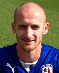 The Spireites were forced to play 75 minutes with ten men when Drew Talbot was shown a straight red after bringing down debutant Marvin Sordell, who the referee adjudged to be the last man.
