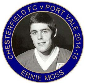 'Ernie Moss Day' will be celebrated this coming Saturday (Jan 10th), when Chesterfield face another of the legendary striker's former clubs, Port Vale.