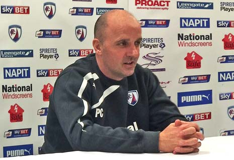 It's been the busiest of starts to the 2014-15 campaign for Chesterfield FC Manager Paul Cook - on and off the pitch - with two games and the somewhat surprising departure of a player who had been an integral part of the successful promotion squad.