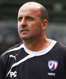 Post-game, Spireites' Manager Paul Cook said, We made a few changes from Saturday because we just felt we were a bit lacklustre then. We're just going through a bit of a transitional period now with the new bodies coming in.