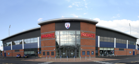Chesterfield's Proact Stadium and Alfreton Town's Impact Arena will both host England Under-17 international matches later this month.