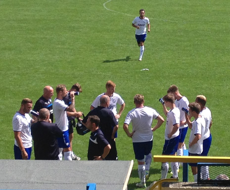 Chesterfield opened their pre season campaign with a 1-1 draw against local side Buxton at the Silverlands.