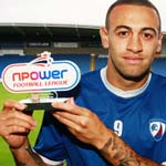 Craig Davies Wins Octobers Npower League 2 Player Of the month award