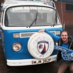 Spireites VW Camper On A Return Wembley Mission