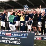 Chesterfield Are Champions! Spireites Going Up In Style