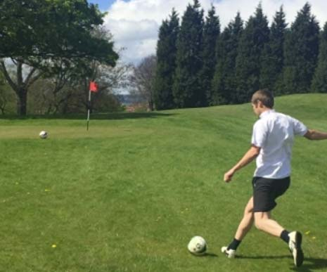 The latest sporting craze has made its way to the region - and is set to kick off at one of Chesterfield's most popular golf courses.
