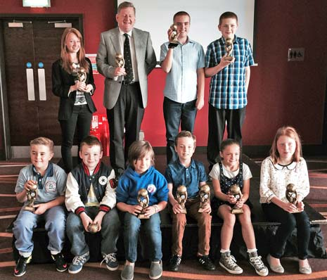 The Chesterfield FC Community Trust Junior Awards have been presented at an event held at the Proact Stadium