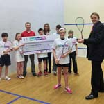 Chesterfield MP Toby Perkins Welcomes Olympic Squash Boost For Brampton Manor