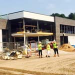 New Fitness & Leisure Centre Taking Shape At Queen's Park