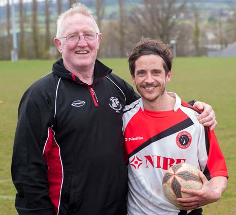 Coach Derek Sherlock joined the club at the beginning of the season having enjoyed a high profile career in rugby league, which included a stint as Sheffield Tigers 1st XV captain between 1971-2 and Sheffield RUFC, where he played 250 consecutive games.