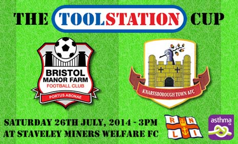 Staveley Miners Welfare FC will be hosting the Toolstation Cup, the first ever interleague match between the Toolstation Northern Counties East League and the Toolstation Western League, at their Inkersall Road ground on July 26th at 3pm.