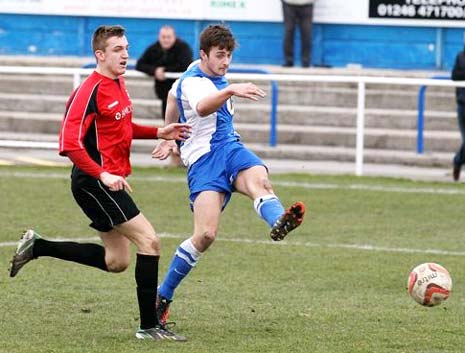 Staveley took the lead after 16 minutes with a fine finish from Kurtis Morley for his 7th goal of the season