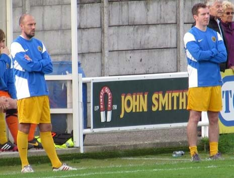 Following the first team management duo's departure, U21 management duo Jay Roper and Steve Bates will be taking over the reins with the first team for the remainder of the season in a caretaker capacity.
