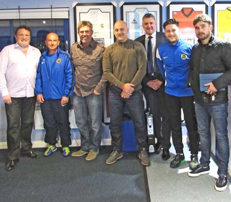 Brett Marshall has assembled a new team of coaches ahead of the forthcoming season to target specific areas, including a specialist goalkeeping coach at Staveley