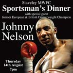 Boxing Personality To Appear At Staveley MWFC Dinner Event